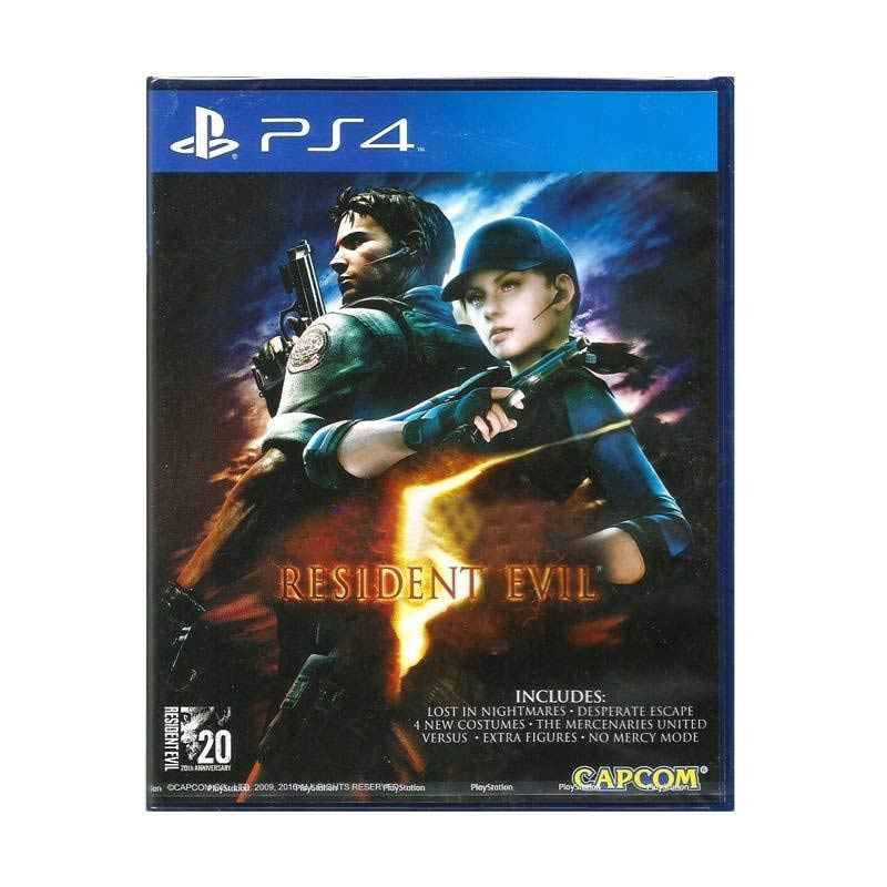 SONY PS4 Resident Evil 5 DVD Game