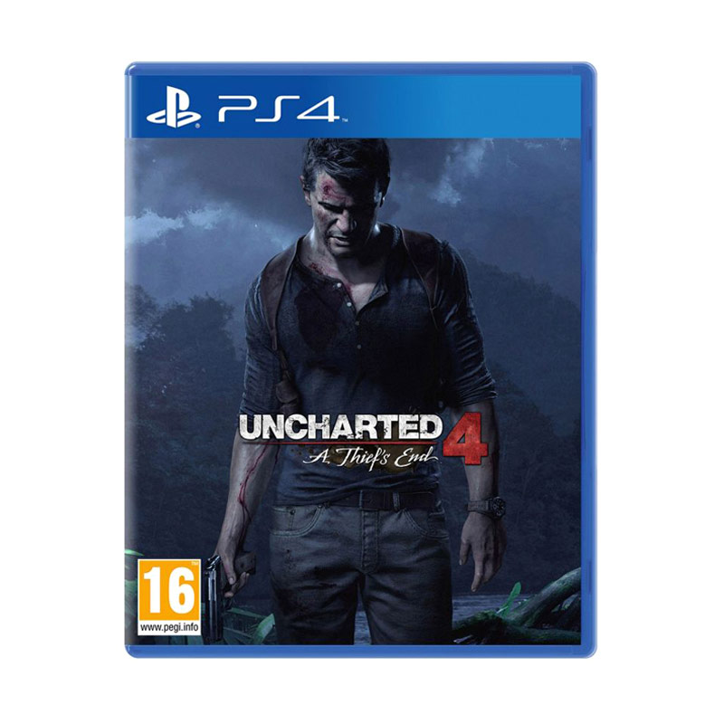 Sony PS4 Uncharted 4: Thief's End DVD Game - 9279139 , 15233122 , 337_15233122 , 650000 , Sony-PS4-Uncharted-4-Thiefamp039s-End-DVD-Game-337_15233122 , blibli.com , Sony PS4 Uncharted 4: Thief's End DVD Game