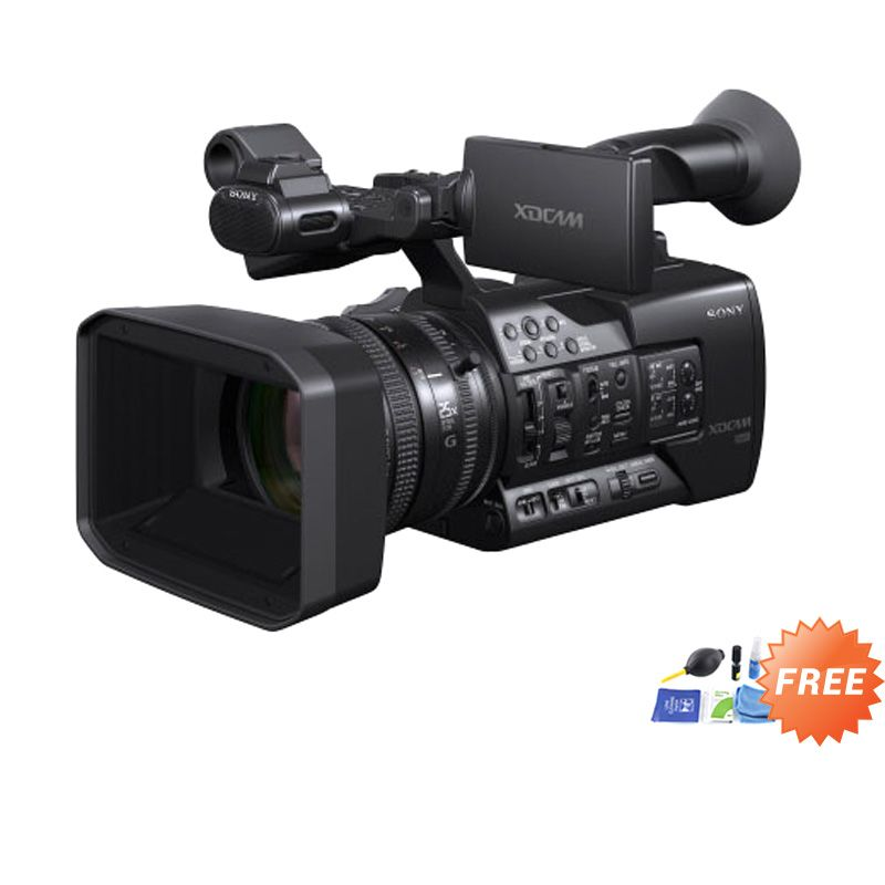 Sony PXW-X160 Full HD XDCAM Handheld Camcorder + Cleaning Kit