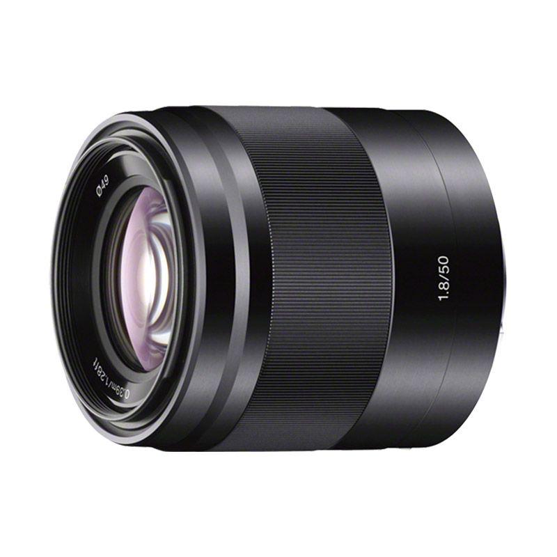Sony Lens E 50mm f/1.8 OSS Black