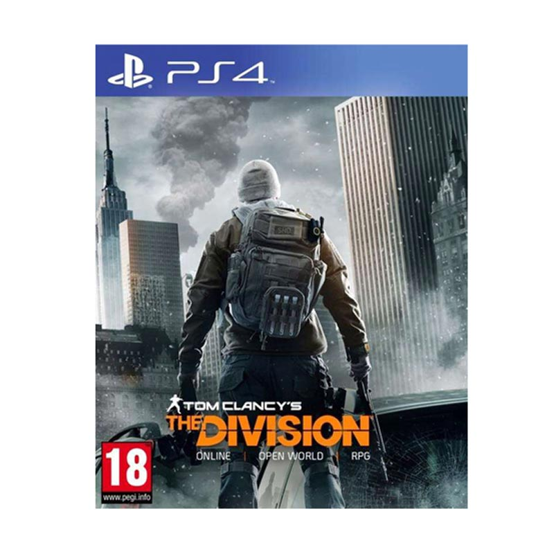 PS4 Tom Clancy's: The Division DVD Game