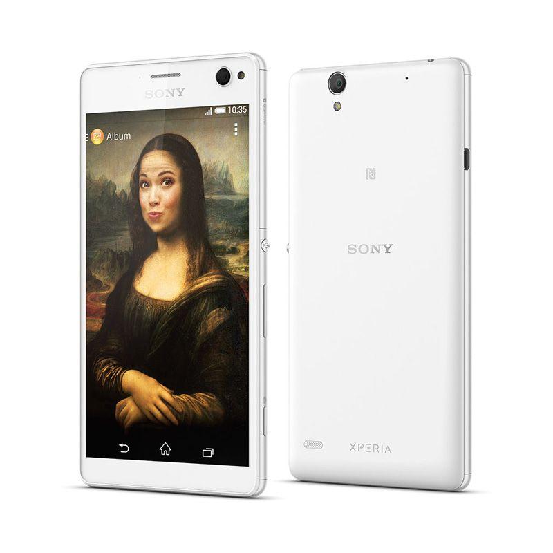 Sony Xperia C4 Dual LTE E5333 Smartphone - White