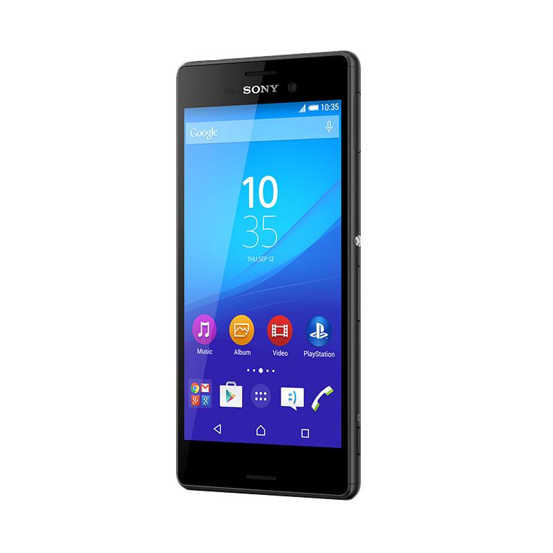 Sony Xperia M4 Aqua E2333 Dual Sim Smartphone - Black [4G LTE]