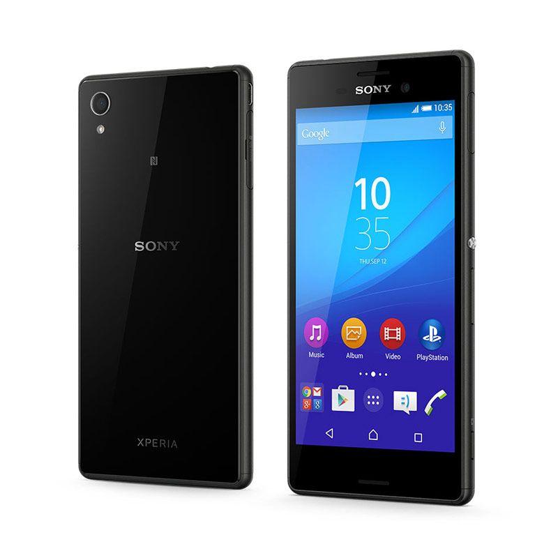 harga Sony Xperia M4 Aqua E2353 Smartphone - Black Blibli.com