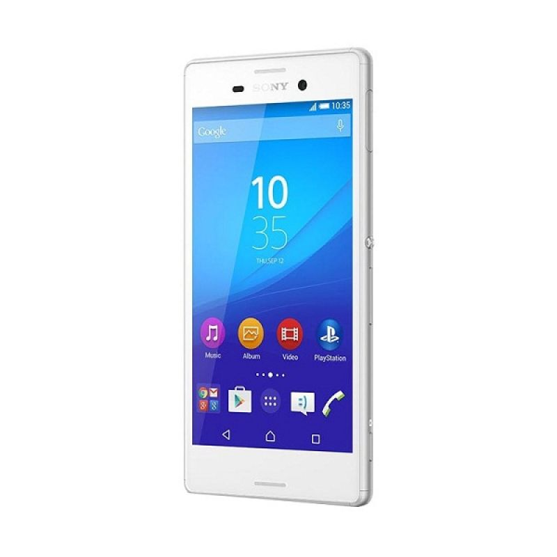Sony Xperia M4 AQUA E2353 Smartphone - Putih [8 GB]