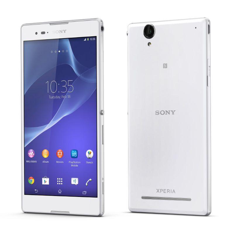 Sony Xperia T2 Ultra White Smartphone [Dual SIM]