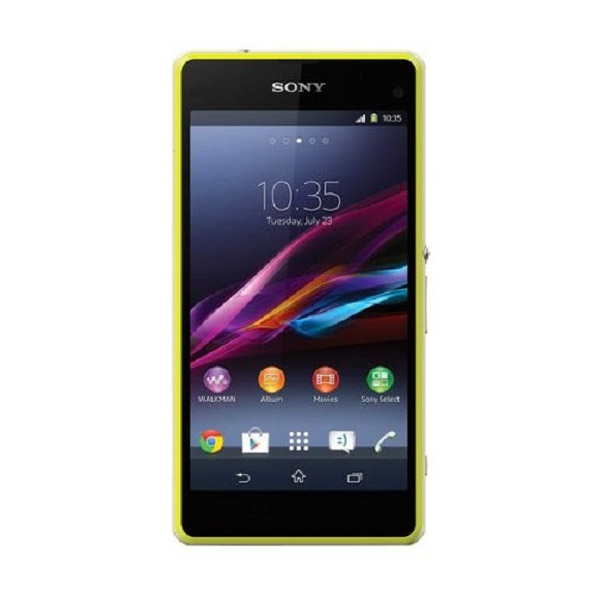 Sony Xperia Z1 Compact D5503 Lime Smartphone + Powerbank