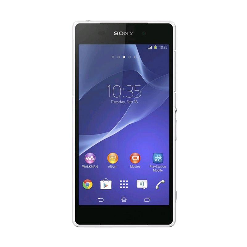 Sony Xperia Z2 Smartphone - Putih [16 GB/4G LTE]