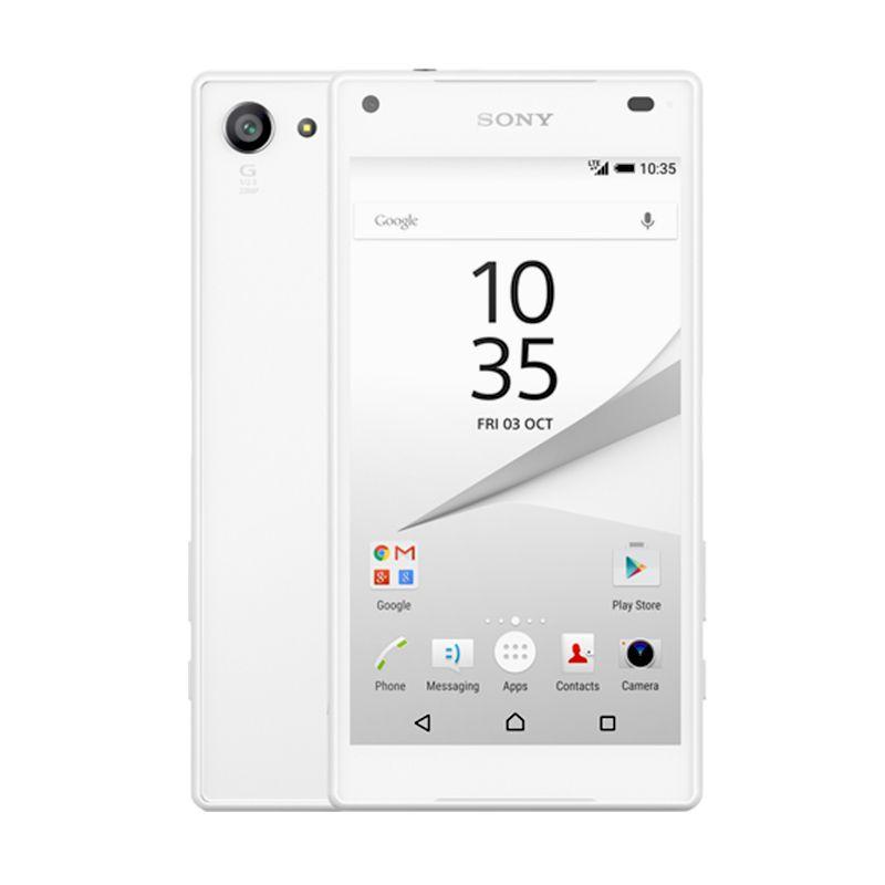Sony Xperia Z5 Compact Smartphone - White [32 GB/ 2 GB]