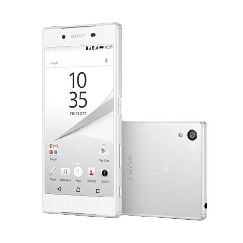 Sony Xperia Z5 Dual Smartphone - White [32GB/ 3GB] - Garansi Resmi Indonesia