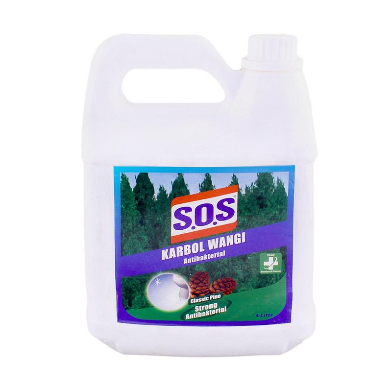 SOS Karbol Classic Pine [4 L]. Fitur Produk. Pembersih Lantai .