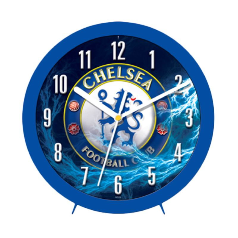 PSE Souvenir Online Chelsea Biru Jam Dinding