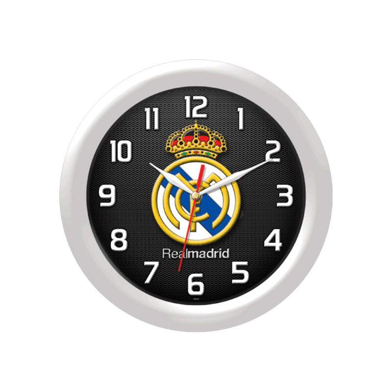 PSE Souvenir Online Real Madrid Putih Jam Dinding [30 cm]