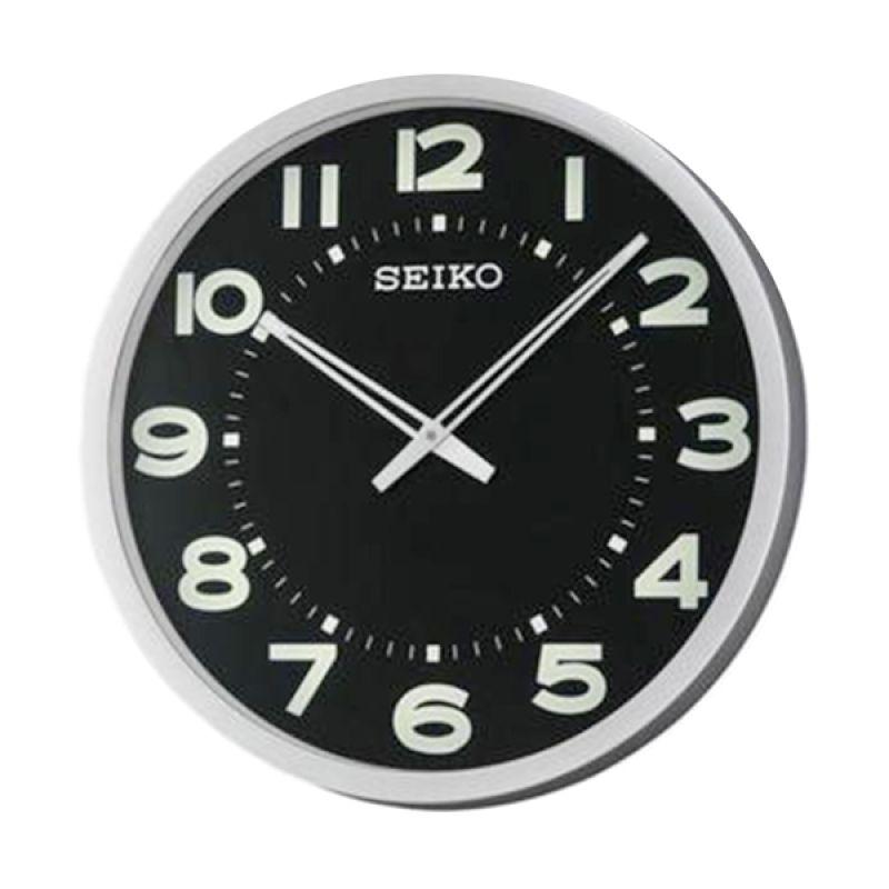SEIKO QXA564S Silver Jam Dinding [51 cm]