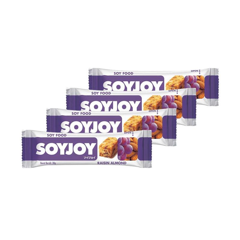 Soyjoy Raisin Almond [30 g x 4 pcs]