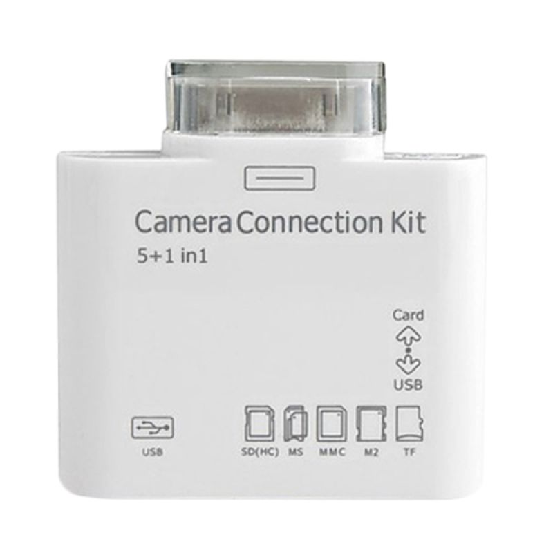 Apple 5 in 1 Camera Connection Kit for iPad