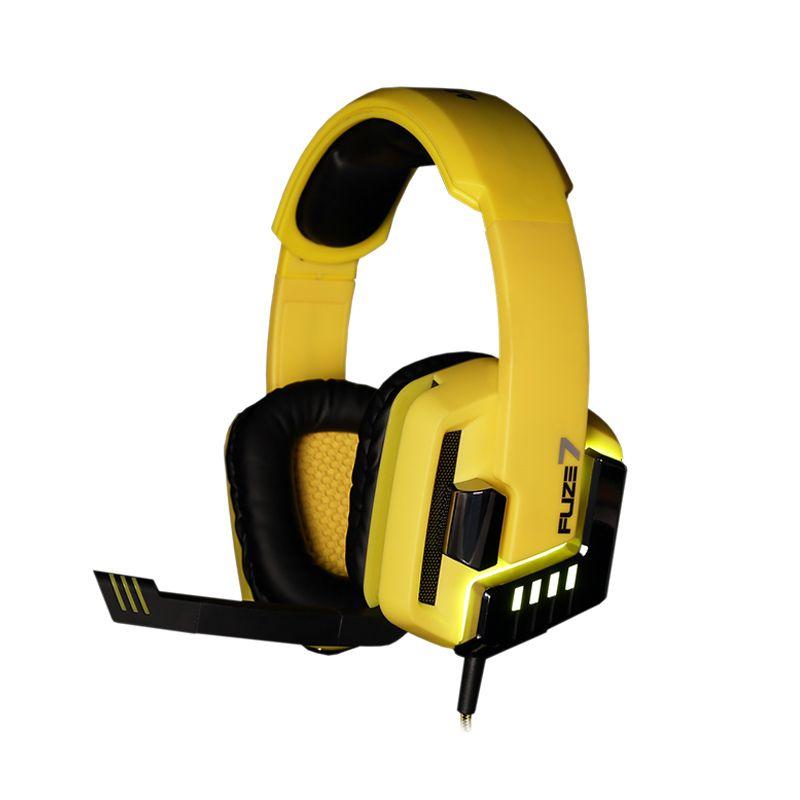 Armageddon Fuze 7 Kuning Hitam Headset