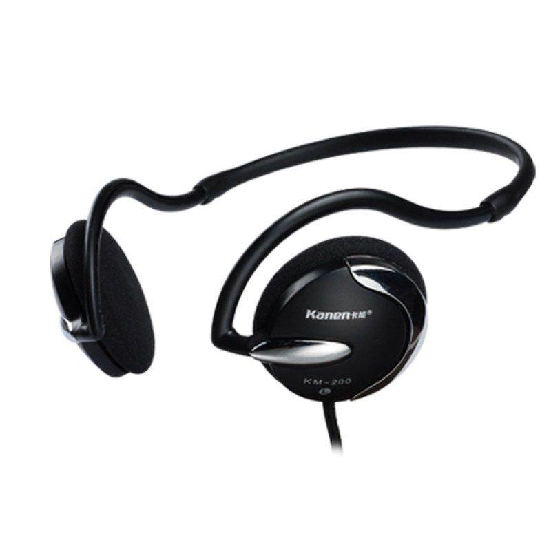 Kanen KM 200 Hitam Headset