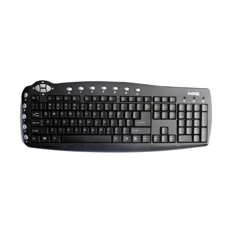 Raoop 1688 Hitam Keyboard