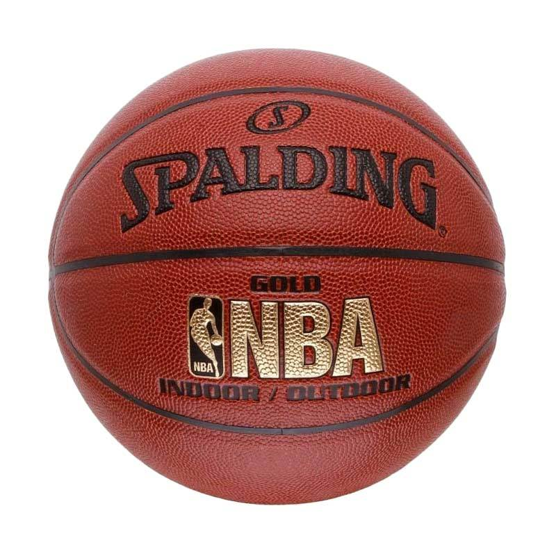 Spalding NBA 2014 Indoor Outdoor Gold Bola Basket (SPA74-559Z)