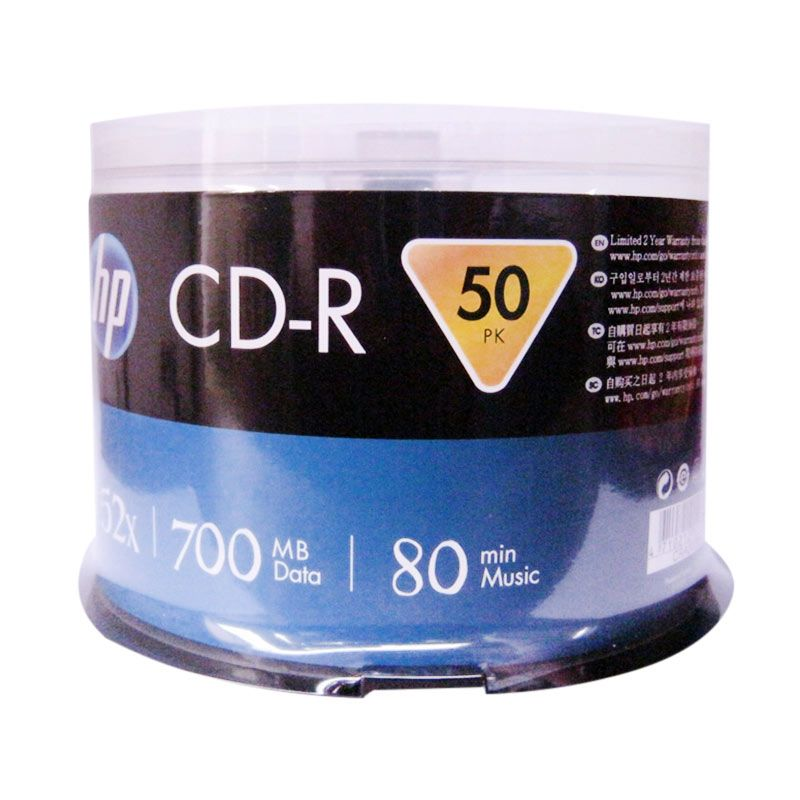 HP 52X Biru CD-R [50 Pcs]