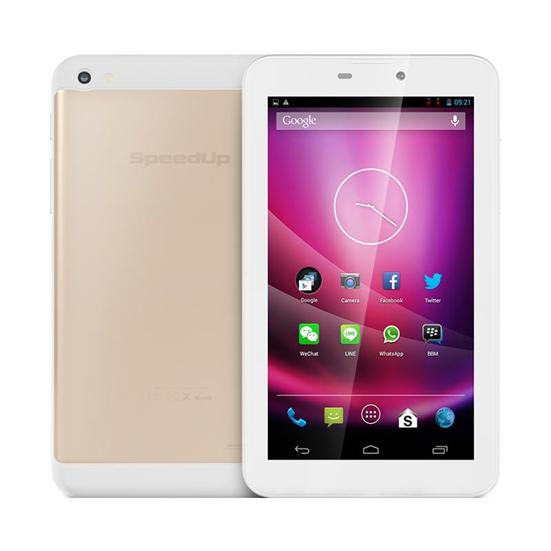 Tablet SpeedUp Pad Gold 3G Free Silikon Pad Gold