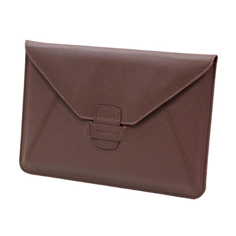 SpeedUp Leather Case Envelope Black