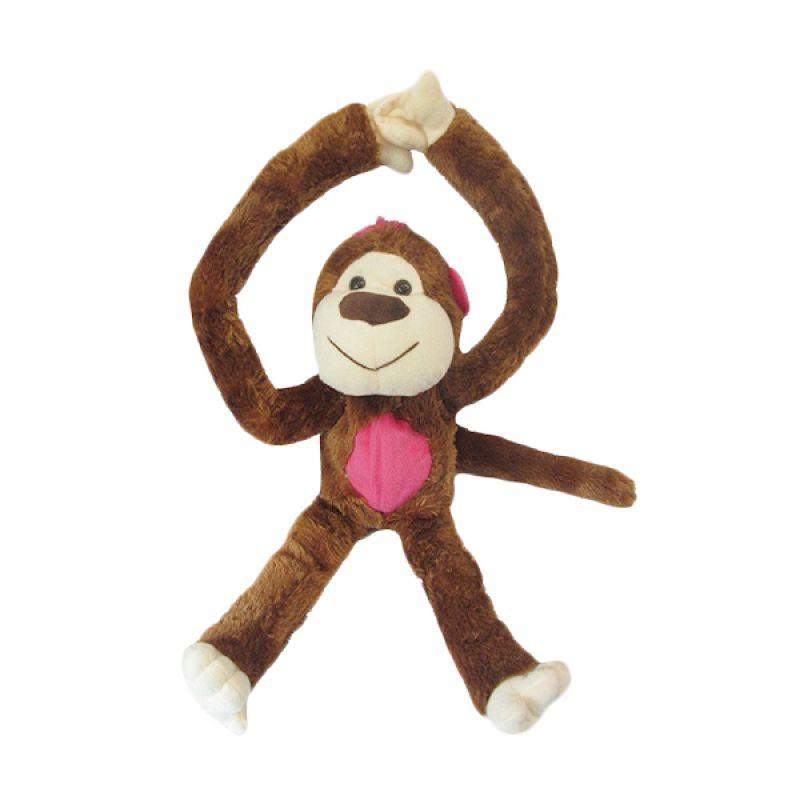Spicegift Monyet Ulur Brown Boneka