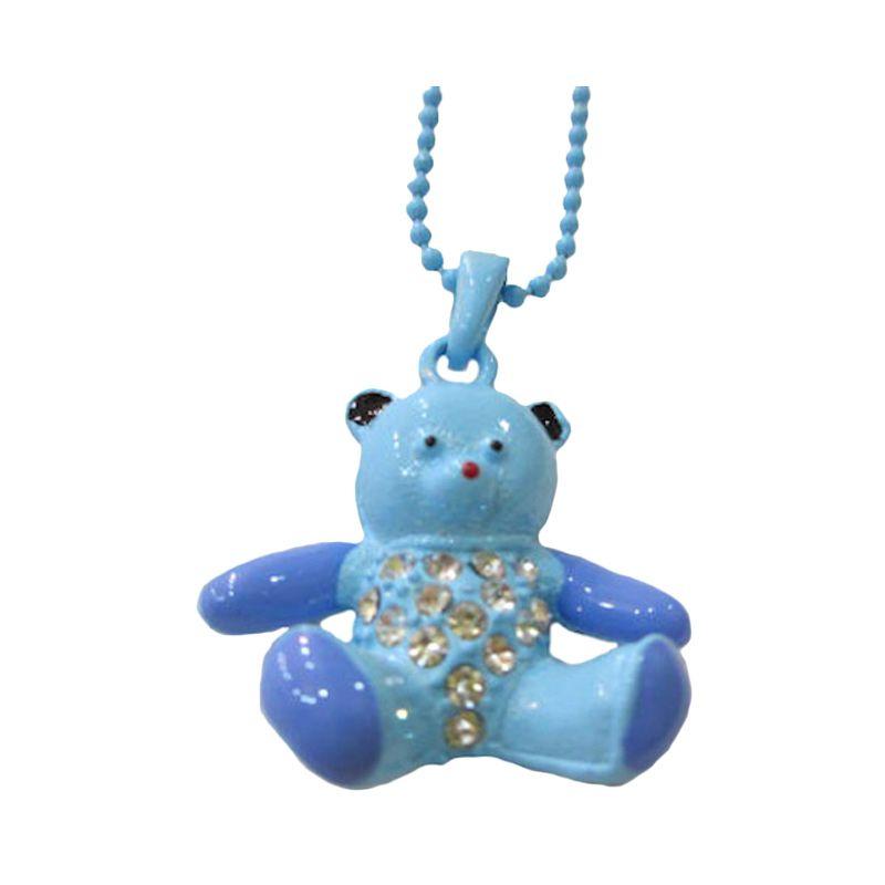 Spicegift Kalung Anak Teddy Bear Biru