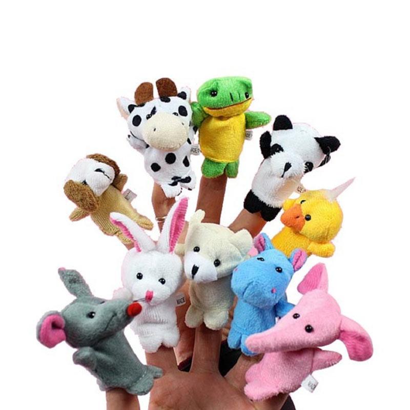 harga Spicegift 1 Set Boneka Jari Seri Animal/Binatang Mainan [10 pcs] Blibli.com