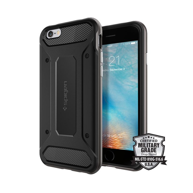 Spigen Neo Hybrid Carbon Gunmetal Casing for iPhone 6 Plus or 6S Plus