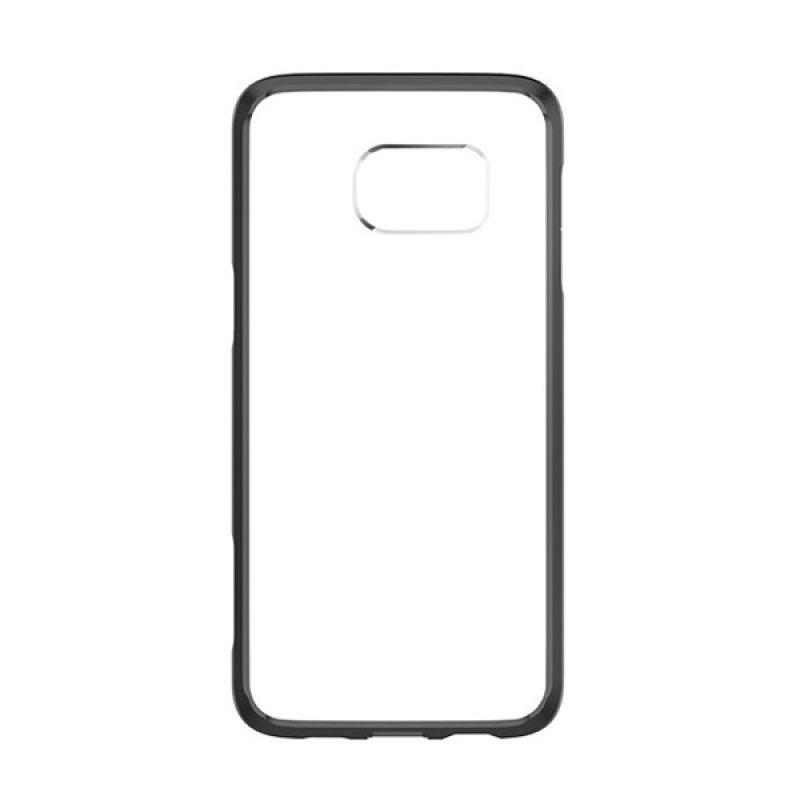 Spigen Capsule Ultra Hybrid Black Casing for Samsung Galaxy S6 Edge Plus
