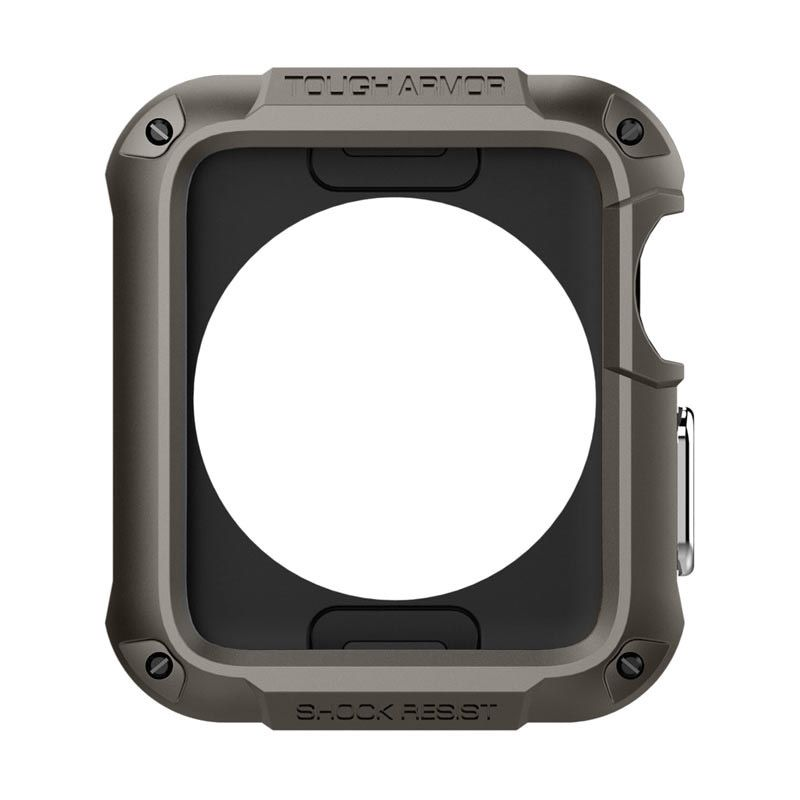 Spigen Gunmetal Tough Armor Casing for Apple Watch [42 mm]