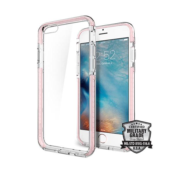 Spigen Ultra Hybrid Tech Crystal Rose Casing for  iPhone 6 / 6s