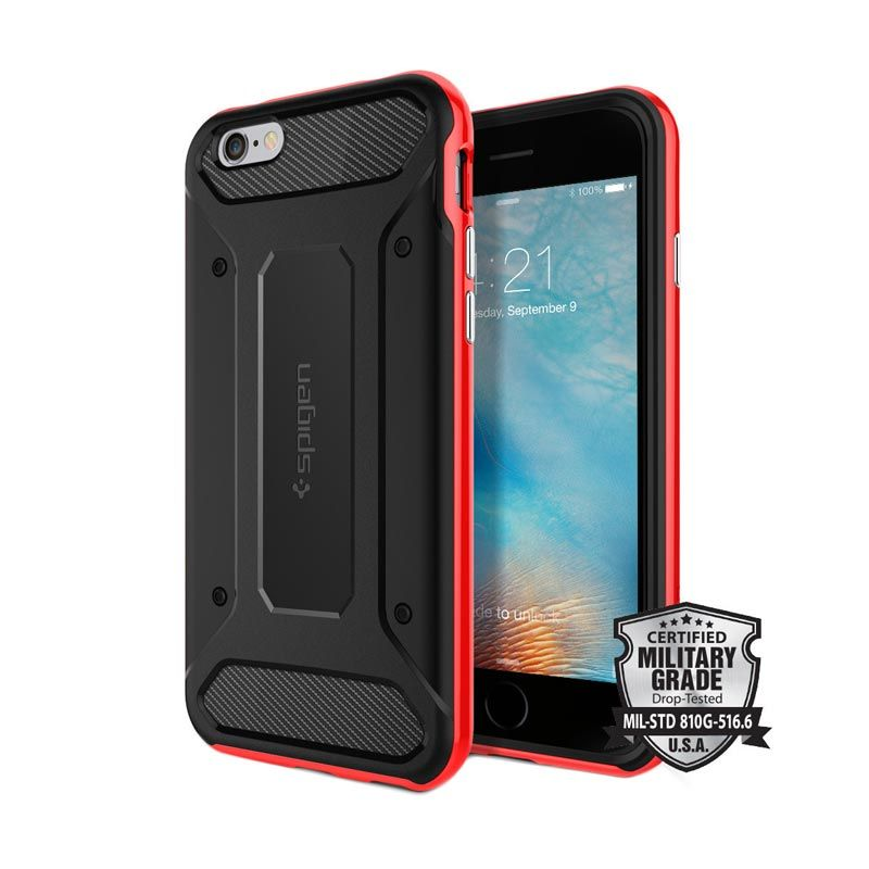 Spigen Neo Hybrid Carbon Dante Red Casing for iPhone 6 or 6s