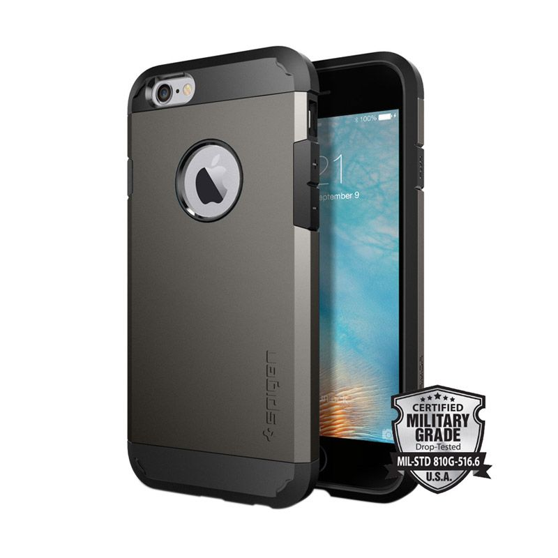 Spigen Tough Armor Gunmetal Case for iPhone 6/6s