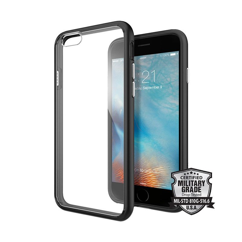 Spigen Ultra Hybrid Black Casing for iPhone 6/6s