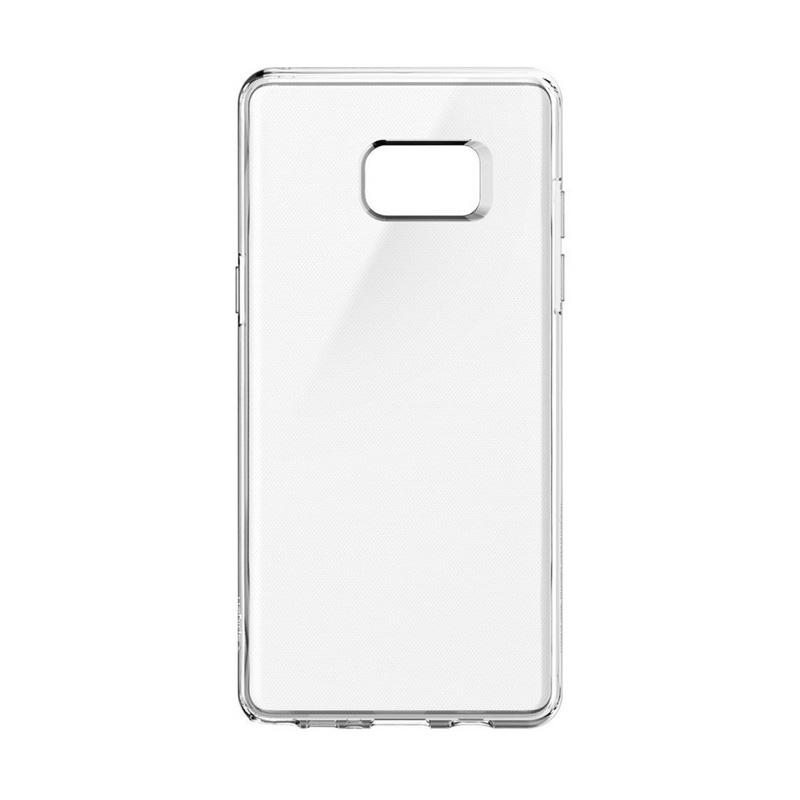 Spigen Liquid Crystal Case Casing for Samsung Galaxy Note FE / Samsung  Galaxy Note 7 - CRYSTAL CLEAR