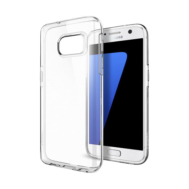 Spigen Liquid Crystal Casing for Samsung Galaxy S7 - Clear