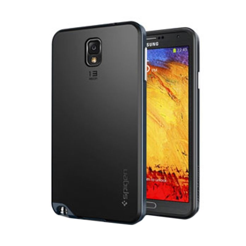 Spigen Neo Hybrid Gunslate Dark Blue Casing for Samsung Galaxy Note 3