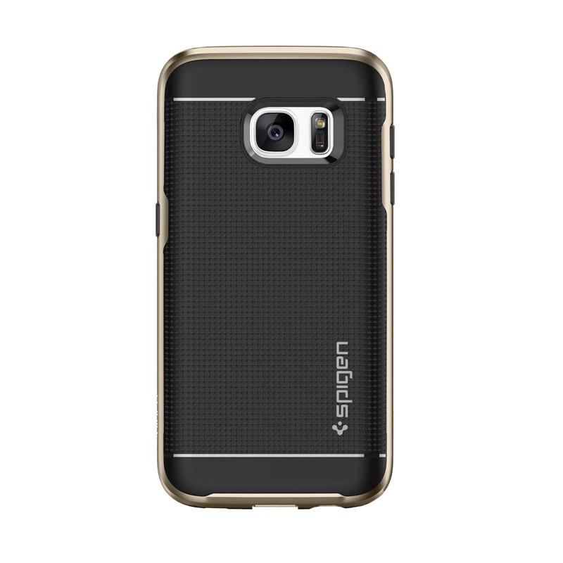 the best attitude 339fd 5a255 Spigen Neo Hybrid Case Casing for Samsung Galaxy S7 - GOLD