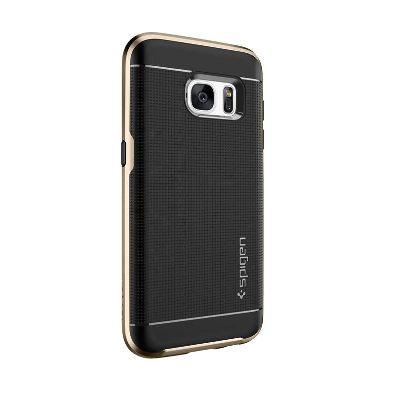 the best attitude d13c4 a6d82 Spigen Neo Hybrid Case Casing for Samsung Galaxy S7 - GOLD