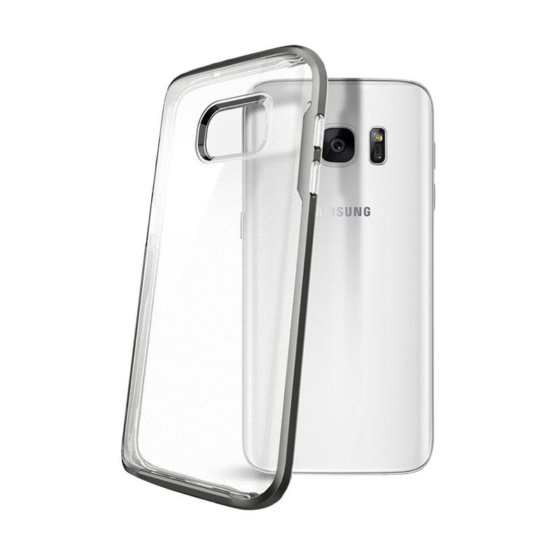 Spigen Neo Hybrid Crystal Casing for Samsung Galaxy S7 - Gunmetal [555CS20022]