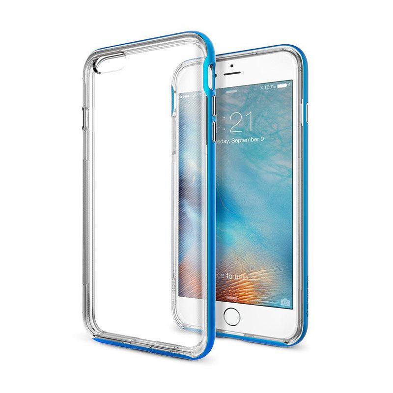 Spigen Neo Hybrid EX Blue Casing for iPhone 6S Plus or iPhone 6 Plus [5.5 Inch]