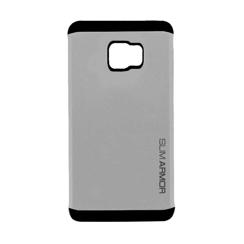Spigen Neo Hybrid Slim Armor Silver Casing for Samsung Galaxy Note 5