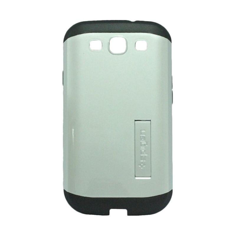 Spigen Neo Hybrid Slim Armor Silver Casing for Samsung Galaxy S3 i9300