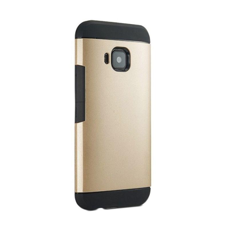 Spigen Slim Armor Gold Casing for HTC one M9