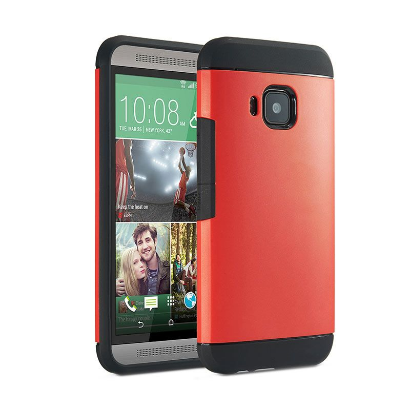 Spigen Slim Armor Red Casing for HTC one M9