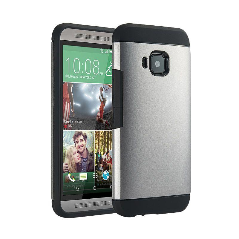 Spigen Slim Armor Silver Casing for HTC one M9
