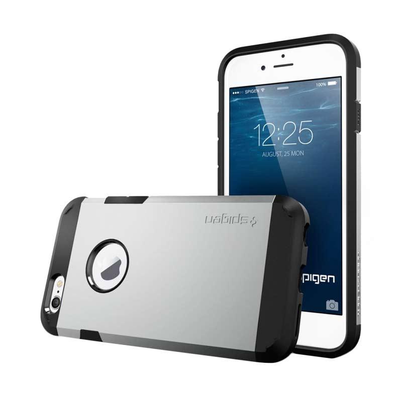 Spigen Slim Armor Casing for iPhone 5 or 5S - Silver